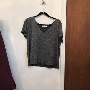Project social t gray t shirt